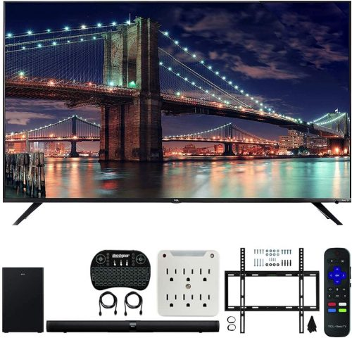 TCL 65R617 65-inch Class 6-Series 4K HDR