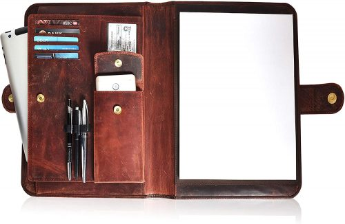 Leather Portfolio for Men and Women
