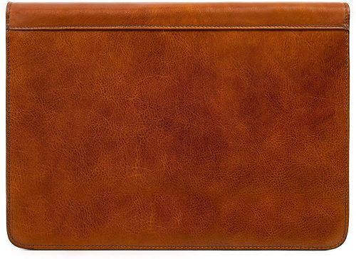 Leather Portfolio Document Folder Handcrafted