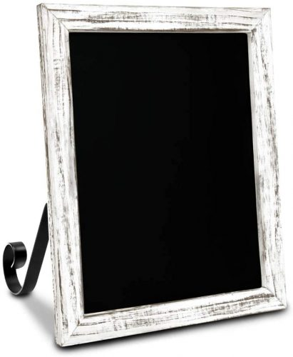 TenXVI Designs 11 by 13 Hanging or Freestanding Vertical | Small Chalkboards