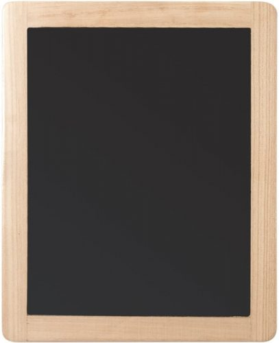 Plaid Double Sided Framed Chalkboard, 8.5 by 10.5, 1 pack | Small Chalkboards