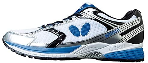 Butterfly Radial Cross Table Tennis Shoes - Comfortable Breathable Gripping Non-Marking Sneakers for Men or Women