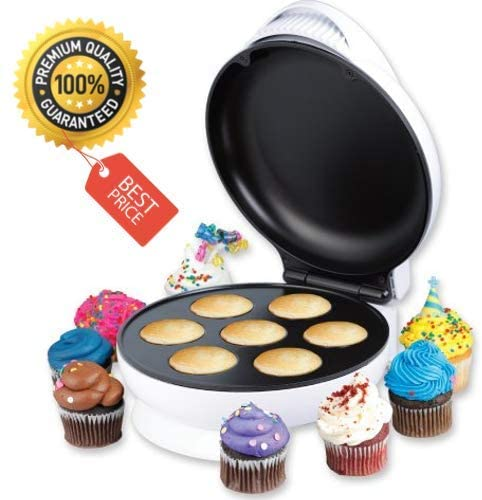 Mini Non-Stick Cupcake Maker For Snack Size Cupcakes