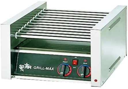 Star Mfg. Grill-Max Non-Stick 75-Hot Dog Roller Grill