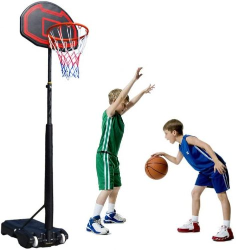 Kamiliya Sports Garden Basketball Hoop Stand - Kids Basketball Hoops