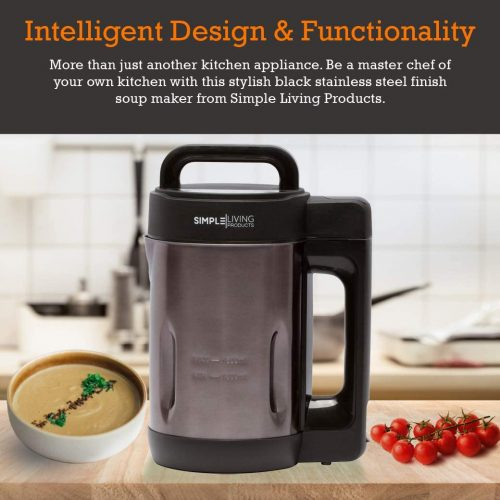 Simple Living Products 1.6L Deluxe Portable Soup Maker
