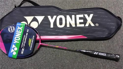 Yonex Lee Chong Wei Voltric Z-Force II Racket, Strung with Cover, Choice of String