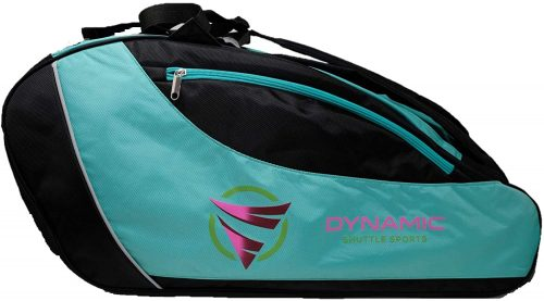 Dynamic Shuttle Sports Premium Quality Badminton Racket Bag, Tennis Racket Bag, with Handles and Shoulder Straps, Large Volume, 5 Compartments, Carry at Least 9+ Rackets