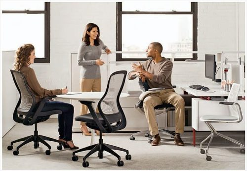 Why is the reclining office chair best for office people?