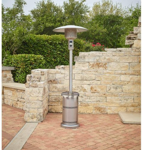 Patio Heater with Table Stainless Steel Outputs | Patio Heater