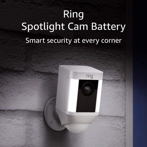Ring Spotlight Cam Battery HD Security Camera | Wireless Outdoor Security Camera