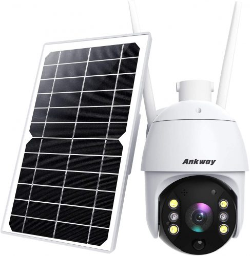 Security Camera Outdoor, Ankway Solar Security | Wireless Outdoor Security Camera