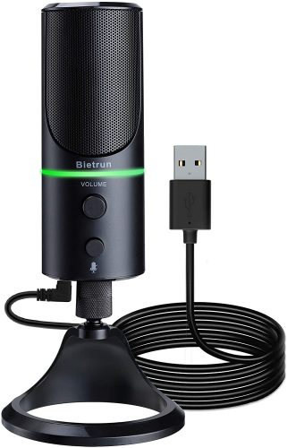 USB Microphone for Computer Laptop with Noise Cancelling | USB Computer Microphone
