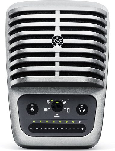 Shure MV51 Digital Large-Diaphragm Condenser | USB Computer Microphone